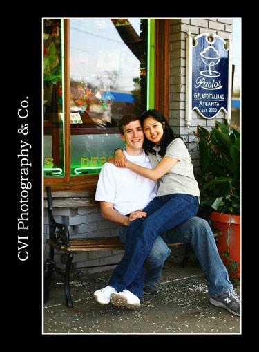 Charleston Wedding Photographers Virgil Bunao E-session: Virginia and Ryan