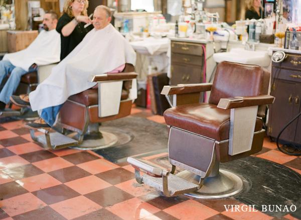 Charleston Wedding Photographers Virgil Bunao Simmons Barber Shop