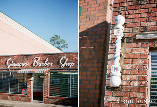 Charleston Wedding Photographers Virgil Bunao Simmons Barber Shop