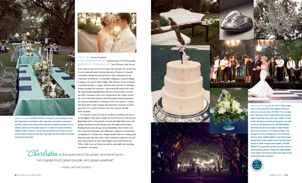 Charleston Wedding Photographers Virgil Bunao PUBLISHED!