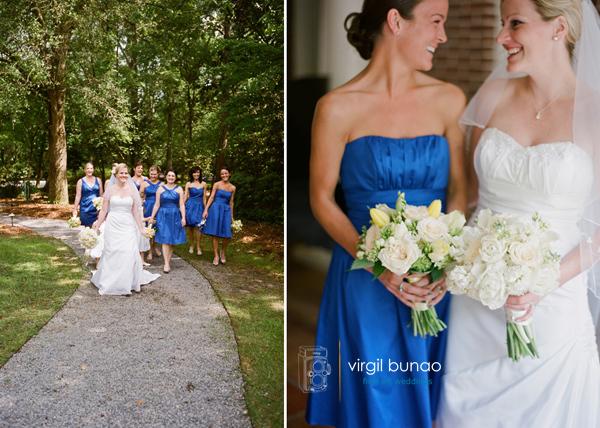 Charleston Wedding Photographers Virgil Bunao Lydia + john  |  The Woodlands Inn... part 1
