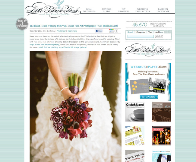 Charleston Wedding Photographers Virgil Bunao Featured in Style Me Pretty- Becca and Jeremy