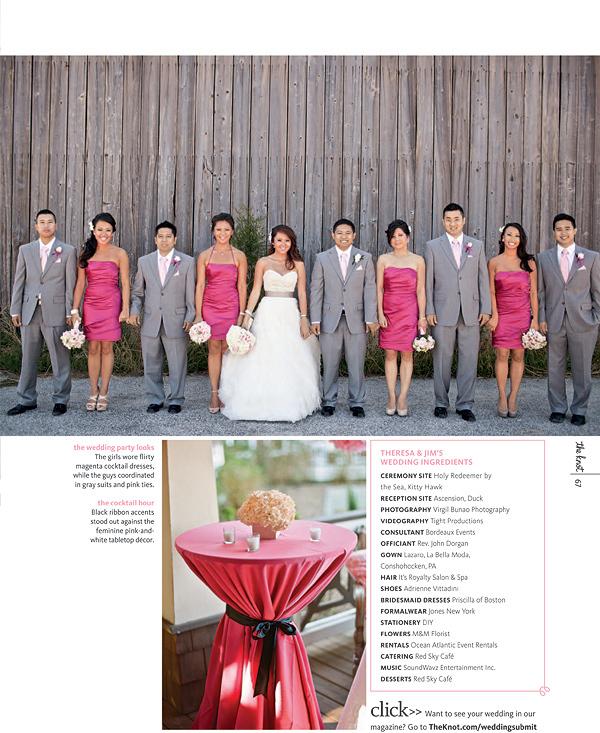 Charleston Wedding Photographers Virgil Bunao Published: The Knot, North Carolina.