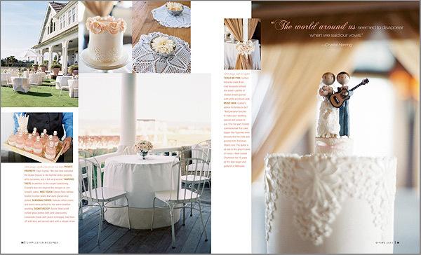 Charleston Wedding Photographers Virgil Bunao Feature Story: Charleston Wedding Magazine