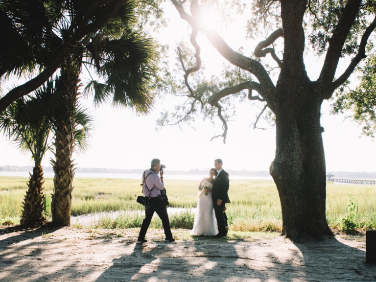 Charleston Wedding Photographers Virgil Bunao Behind the Scenes...