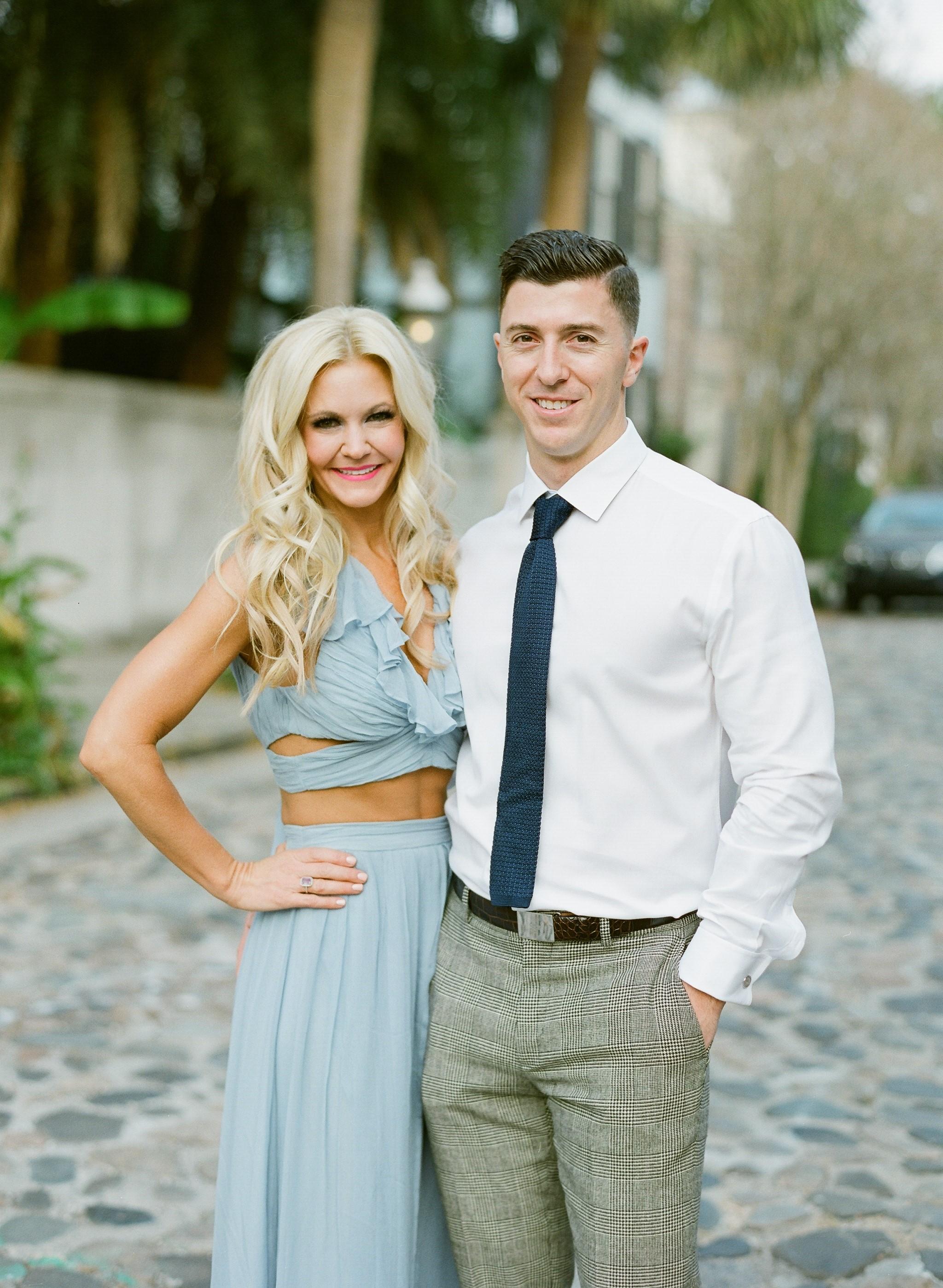 Charleston Wedding Photographers Virgil Bunao Allison and Christian | Charleston Engagement