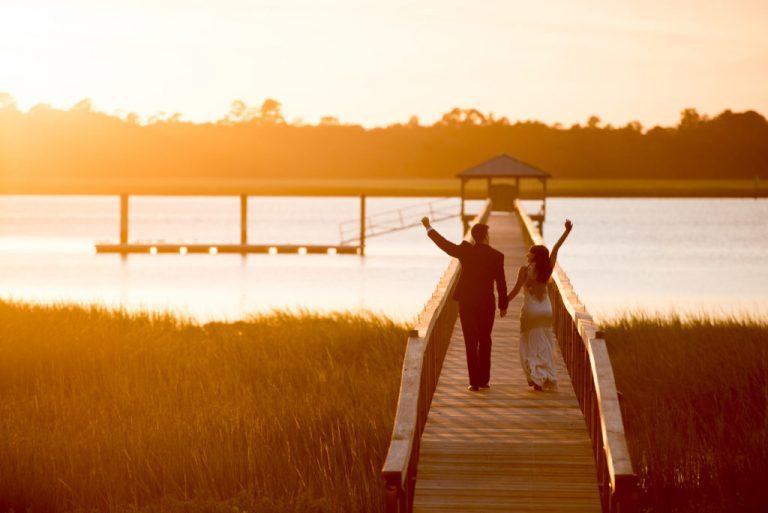 Charleston Wedding Photographers Virgil Bunao Into the Sunset