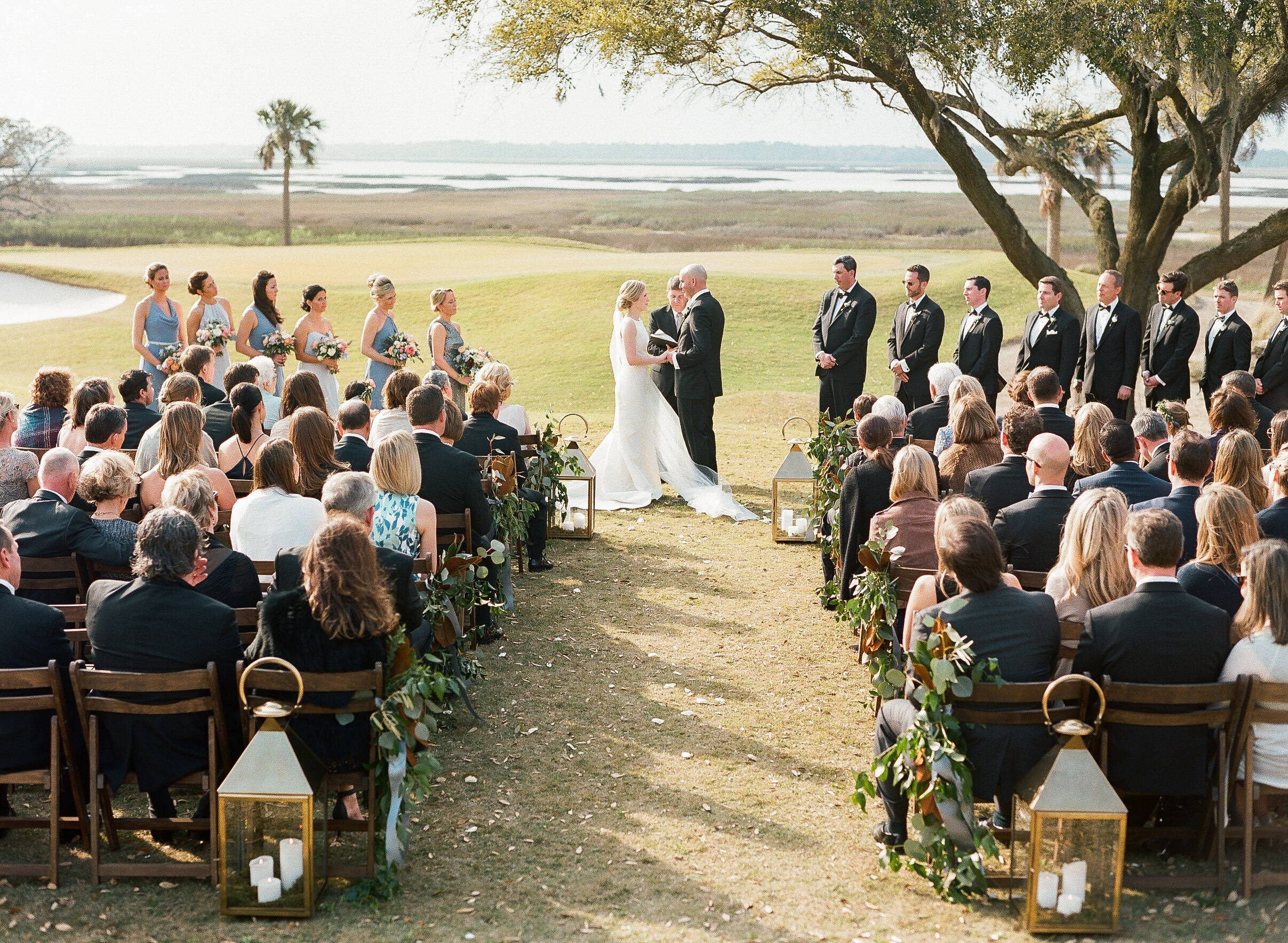 Charleston Wedding Photographers Virgil Bunao K + M | Rivercourse Club, Kiawah Island Wedding  | Part Two