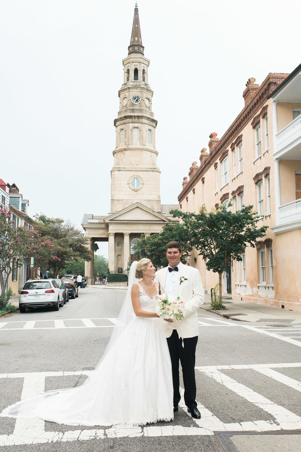 Charleston Wedding Photographers Virgil Bunao A Blush Pink Spring Wedding in Downtown Charleston
