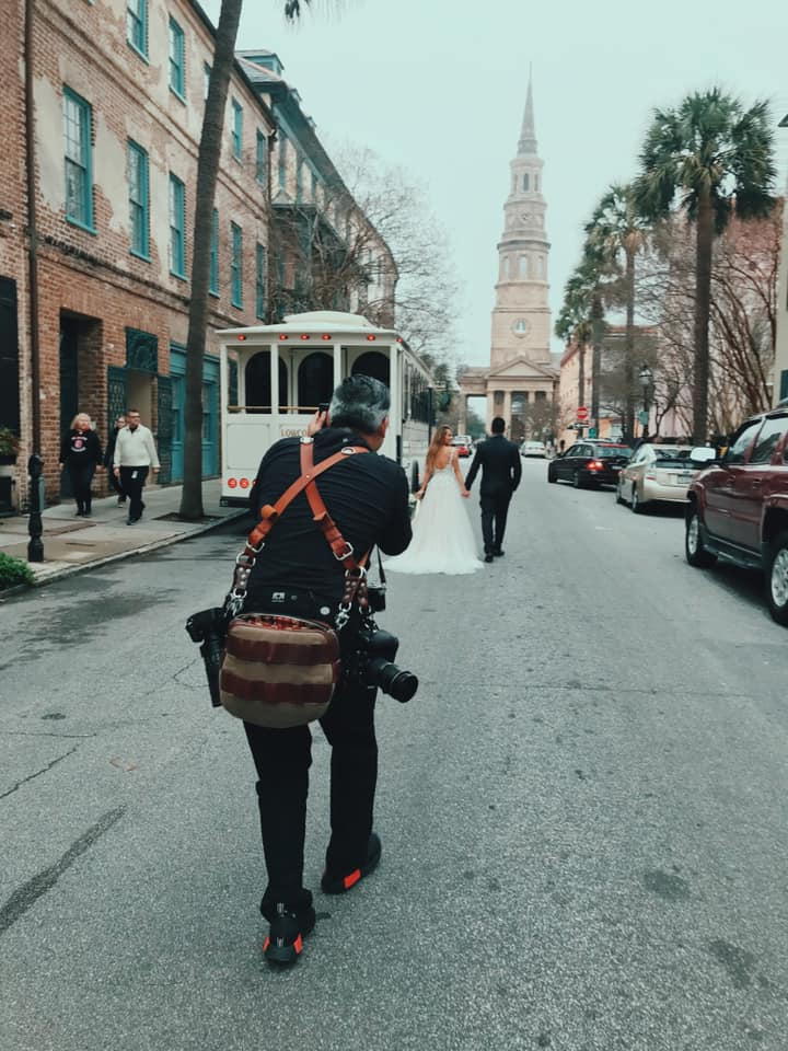 Downtown Charleston Wedding Photographer Virgil Bunao