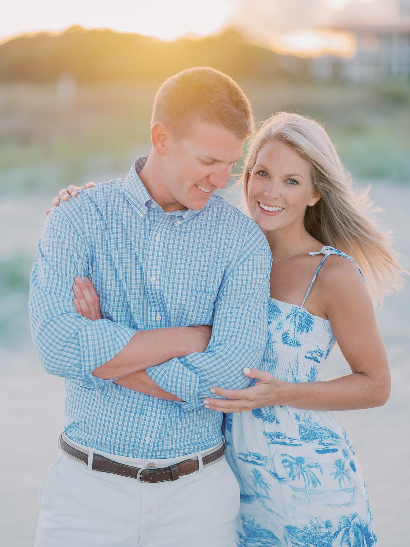 Charleston Wedding Photographers Virgil Bunao Beachy Blues Engagement Shoot in Charleston