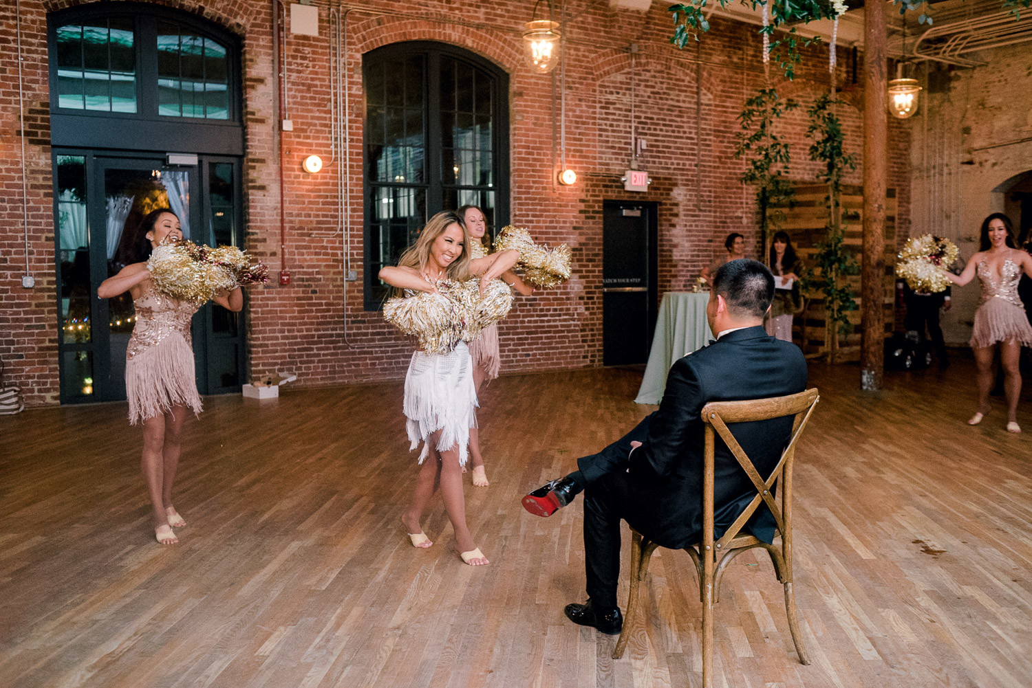 Charleston Wedding Photographers Virgil Bunao Festive Winter Wedding at the Cedar Room
