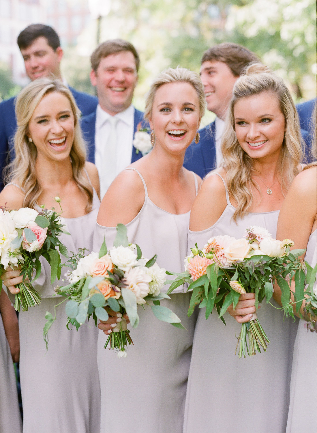 Charleston Wedding Photographers Virgil Bunao Gorgeous Pastel-Hued Spring Wedding in Greenville
