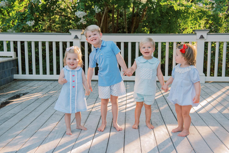 Charleston Wedding Photographers Virgil Bunao Family Portraits for Christmas Cards