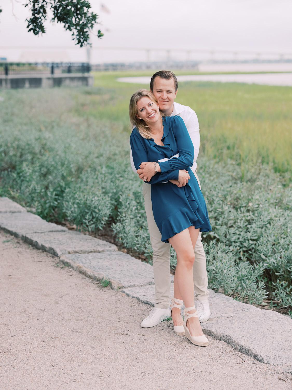 Charleston Wedding Photographers Virgil Bunao Rainy Downtown Charleston Engagement Session