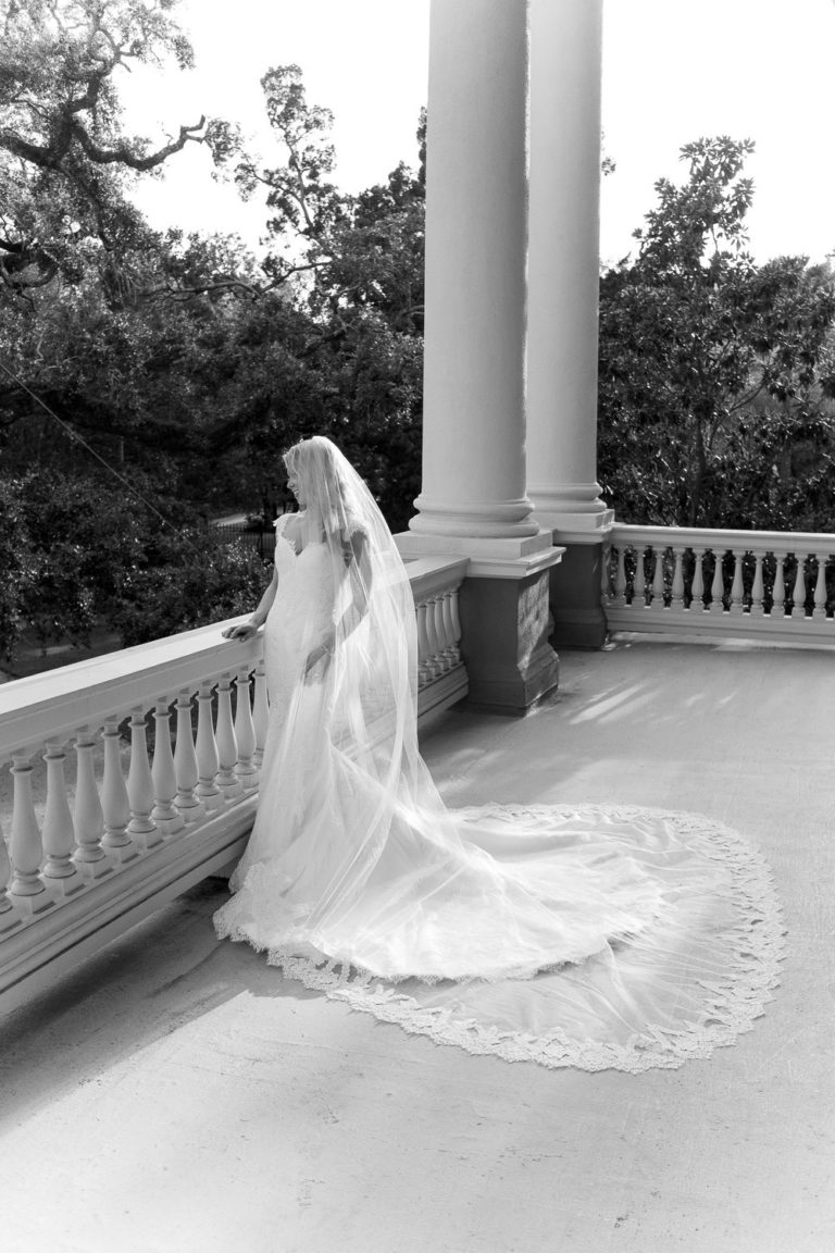 Charleston Wedding Photographers Virgil Bunao Elegant Bridal Portraits