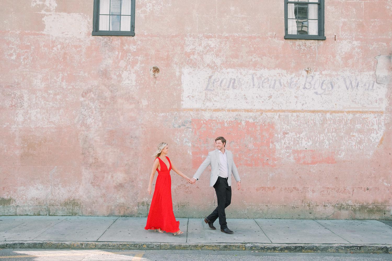 Charleston Wedding Photographers Virgil Bunao Downtown Charleston Couple Portraits