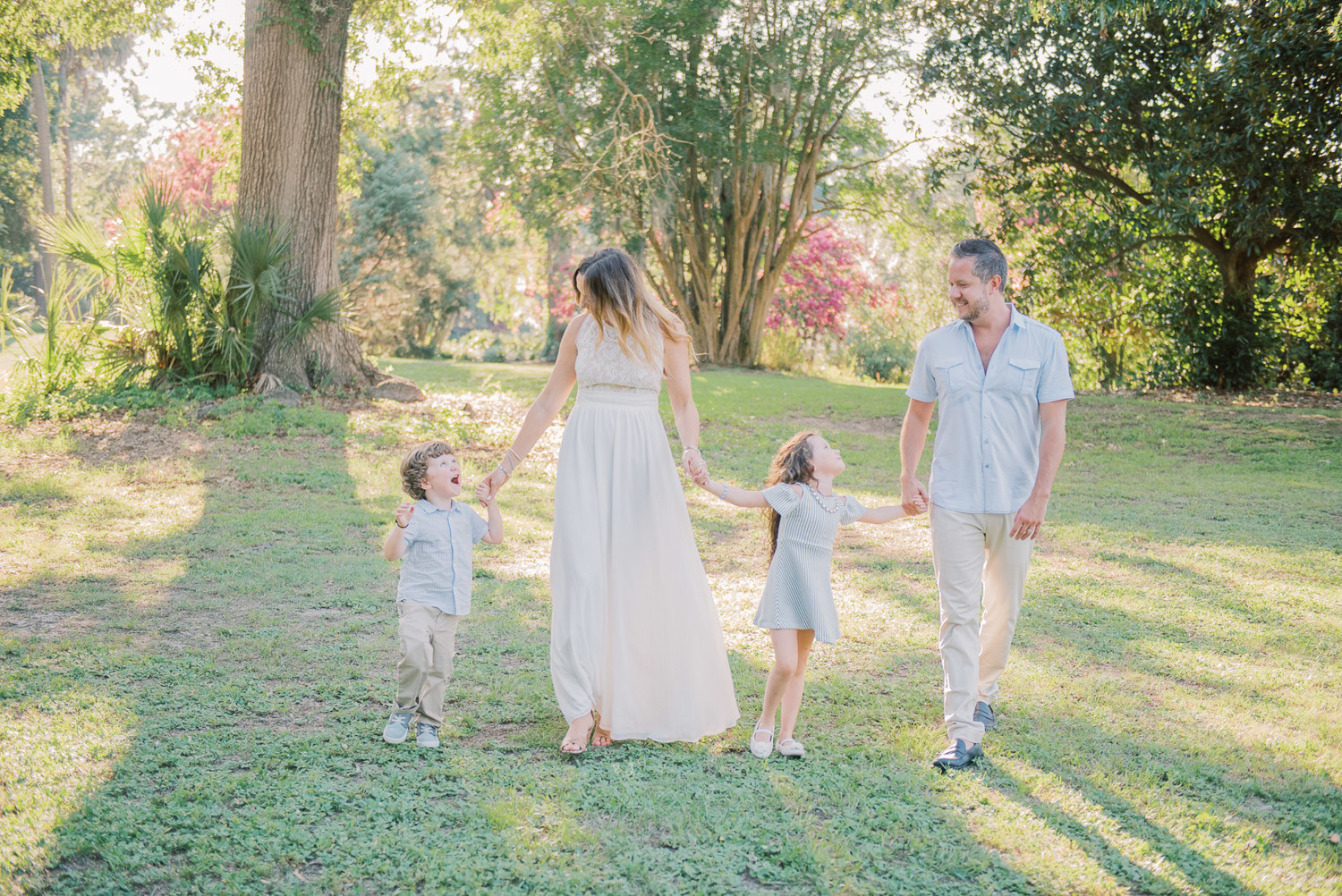 Charleston Wedding Photographers Virgil Bunao Family Photo Session at Charleston Park