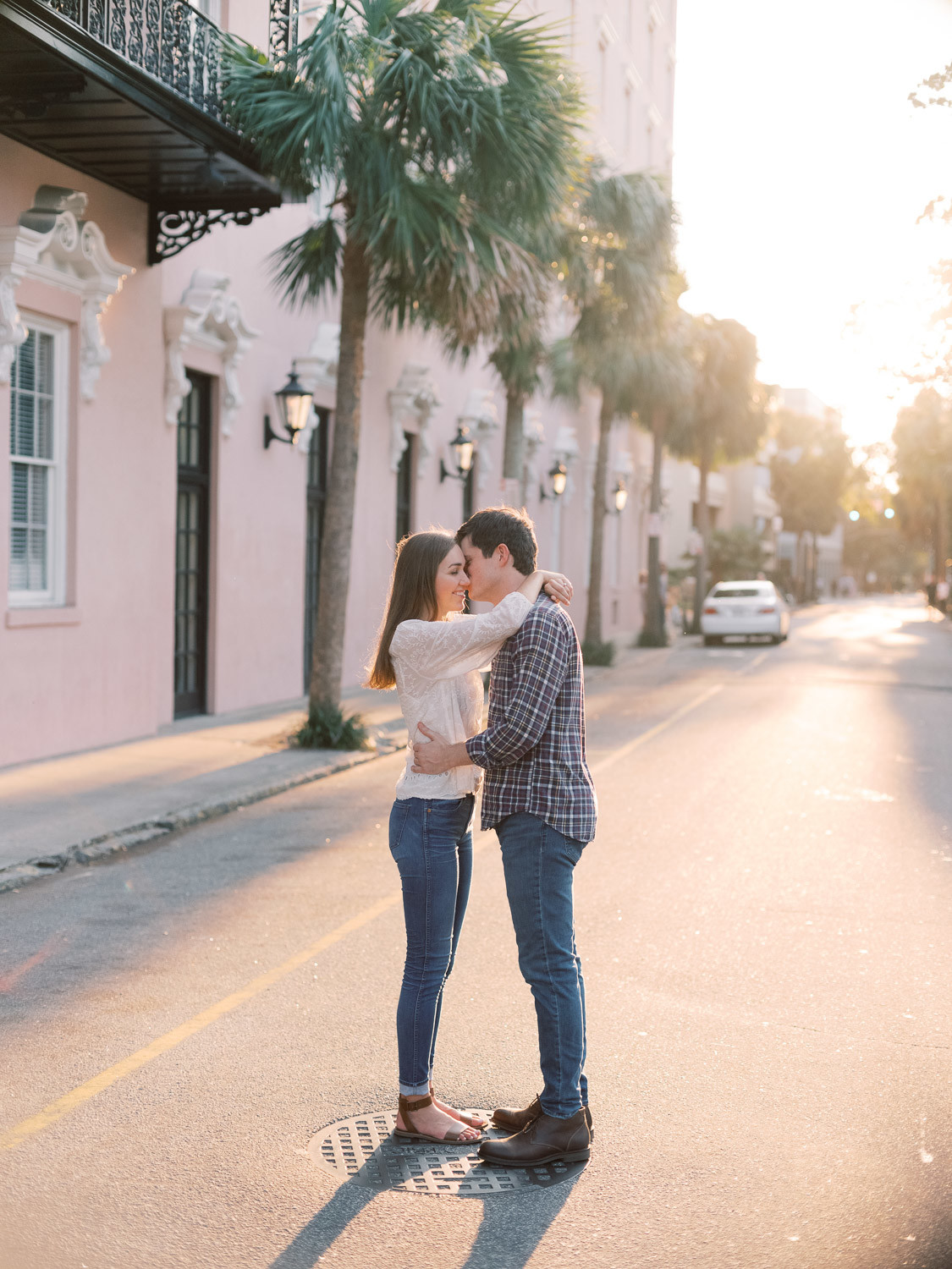 Charleston Wedding Photographers Virgil Bunao Downtown Charleston Engagement Session