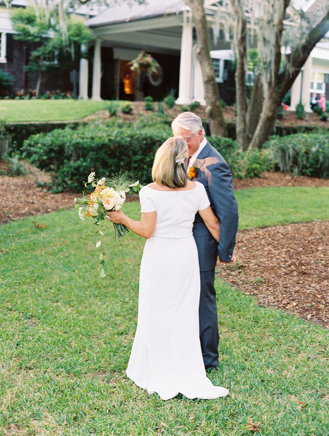 Charleston Wedding Photographers Virgil Bunao Retired Couple Weds at the Rivercourse Club