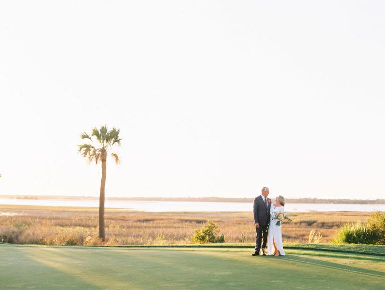 Charleston Wedding Photographers Virgil Bunao Retired Couple Weds at the Rivercourse Club
