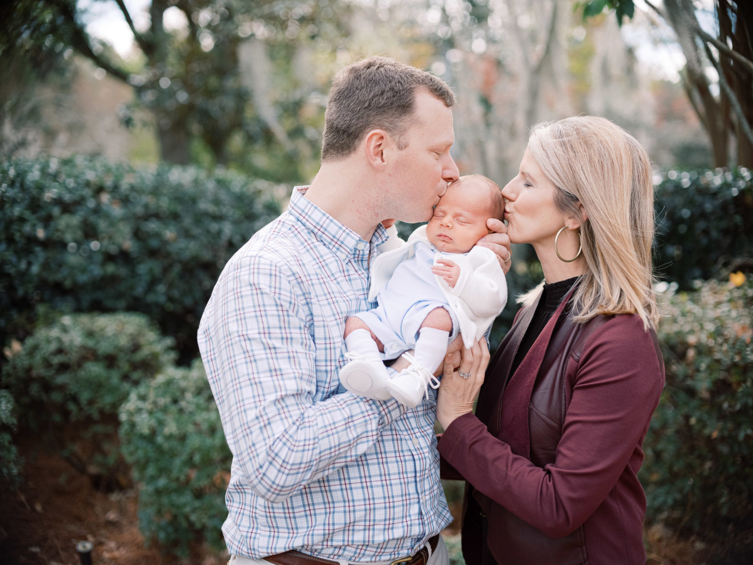 Charleston Wedding Photographers Virgil Bunao Family Photos at Private Residence