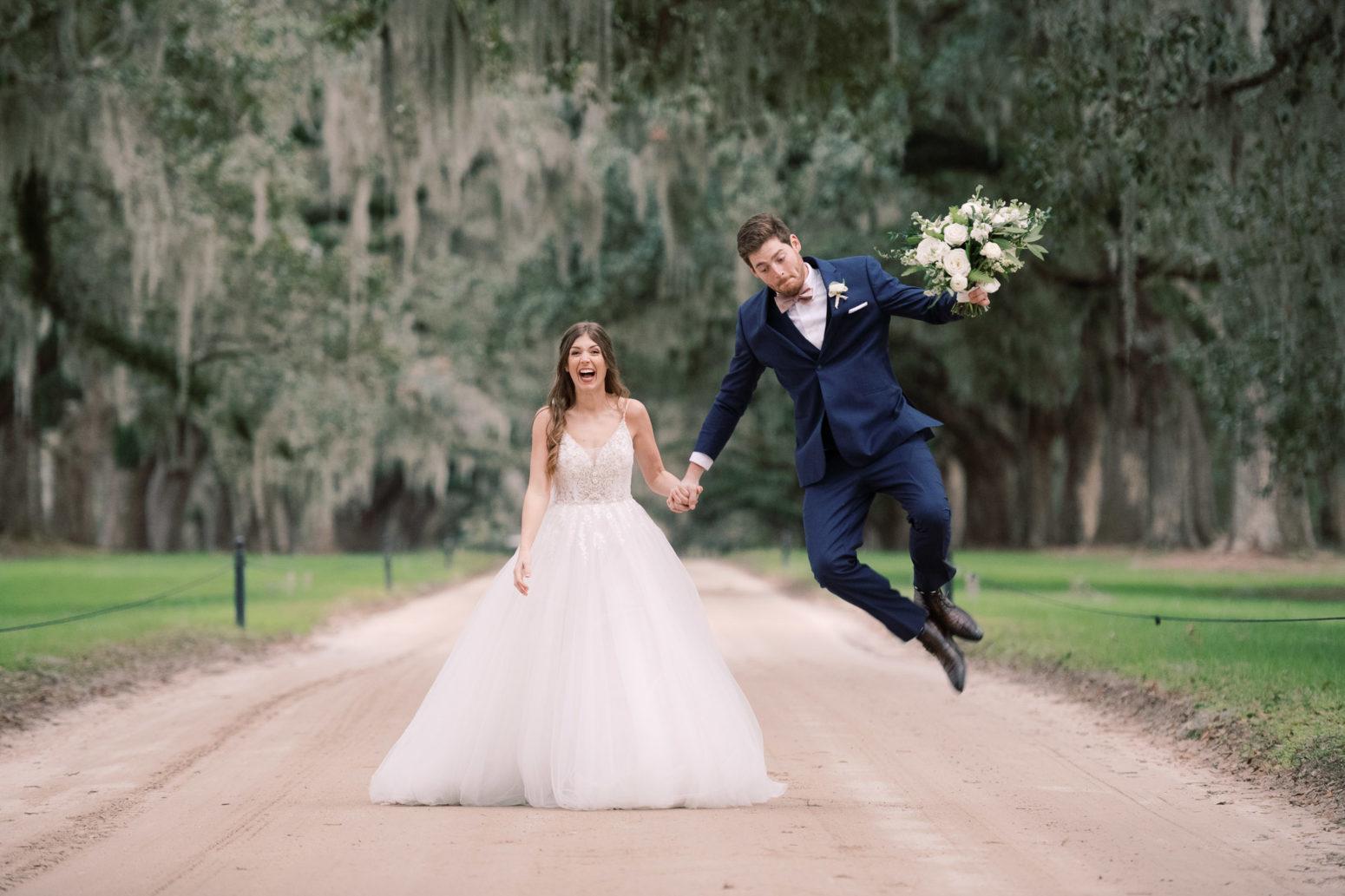 Charleston Wedding Photographers Virgil Bunao Fashion Blogger Weds at Boone Hall Plantation