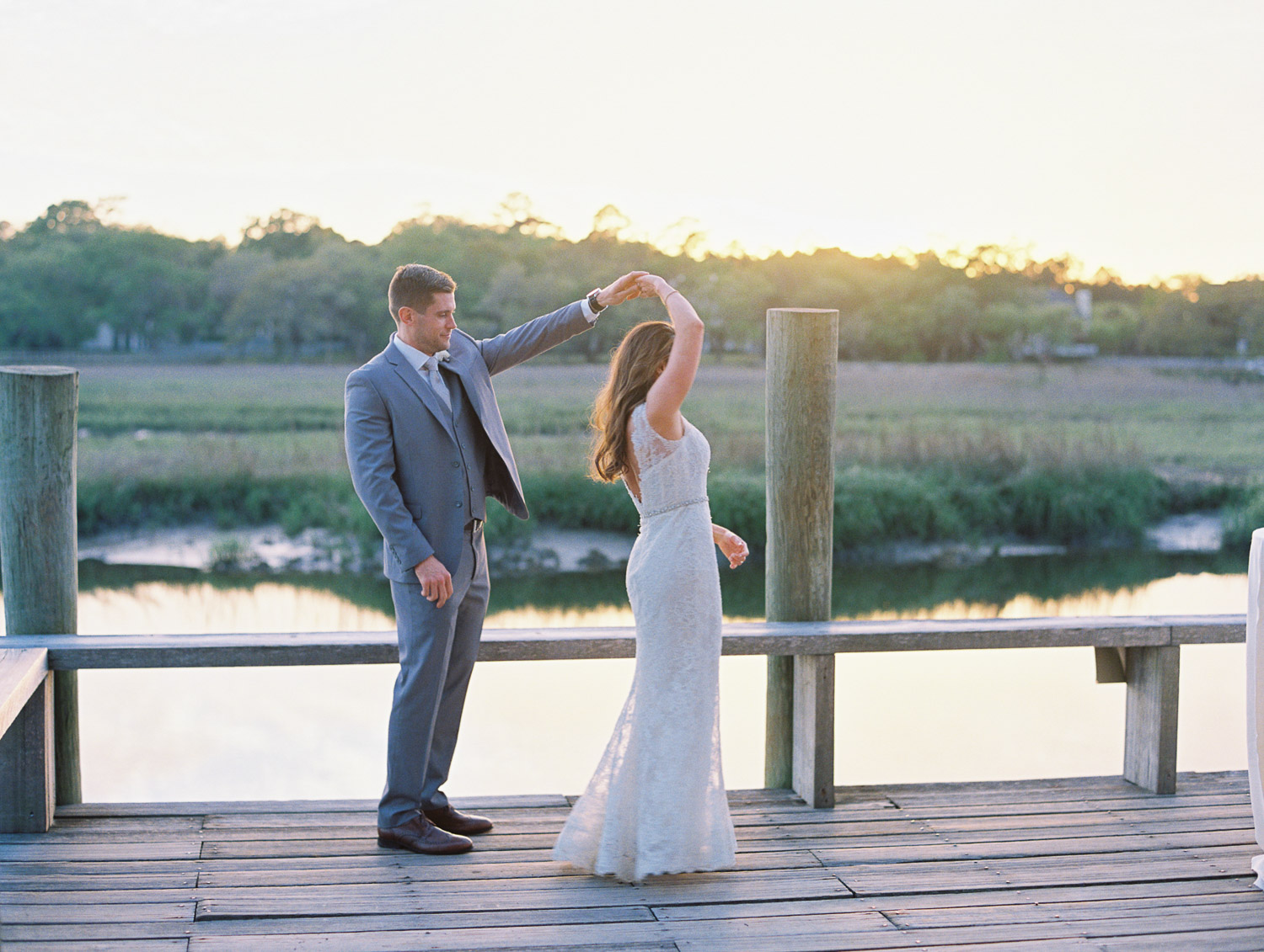 Charleston Wedding Photographers Virgil Bunao Neutral Spring Wedding at Boone Hall Plantation